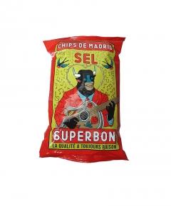 Chips de Madrid au sel