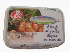 OEUF PLEIN  air label rouge IR